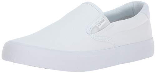 Lugz Women's Clipper Sneaker, White, 6.5 M US
