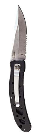 S/s Blade Folding Knife (blk Or Silver Handle), Outdoor Stuffs