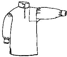 Men's Late 18th or Early 19th Century Work Shirt Sewing Pattern ()
