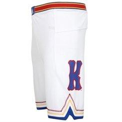 (Kansas Jayhawks Youth adidas Replica Basketball Shorts - White (X-Large))