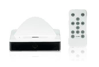 Accurian docking alarm clock and speaker vsystem | ebay.