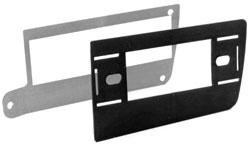 Metra GM Chevy Truck 1973-1987 2-SHAFT Or DIN Pocket Trim Plate - Metra 87993052 Gm Truck Plate