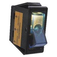 UPC 046494403408, Calterm Inc Blue Rocker Glow Switch 40340