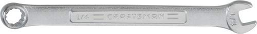CRAFTSMAN Combination Wrench, SAE, 1/4-Inch