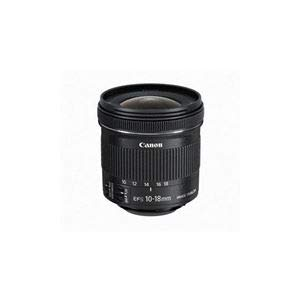 Canon 交換用レンズ EF-S10-18mm F4.5-5.6 IS STM EFS10-18ISSTM   B07KNRDX5P