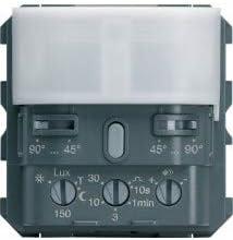 Hager WXF054 - Interruptor automático para escalera Gallery (2 módulos): Amazon.es: Bricolaje y herramientas