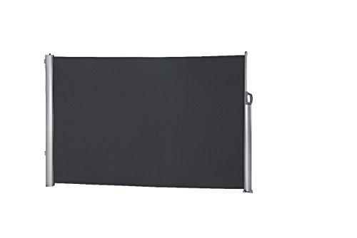 Leco Seitenmarkise, Höhe 1.60 m, Länge bis zu 3 m, anthrazit