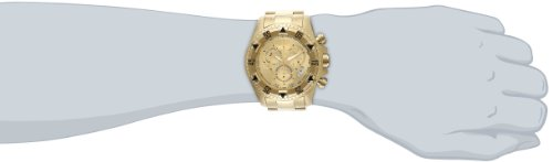Invicta Men s 6471 Excursion Reserve Chronograph 18k Gold Ion-Plated Stainless Steel Watch