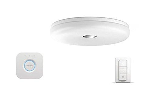 Plafoniere Hue : Philips hue struana lampada da soffitto con telecomando dimmer