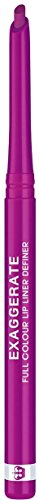 Rimmel Exaggerate Lip Liner Enchantment, 1 count, Long Lasting Twist Up Mechanical Lip Color Pencil, Slanted Tip for Precise Application
