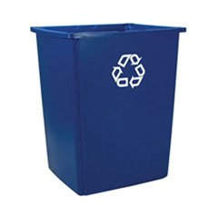Rubbermaid Commercial Products Glutton Series Recycling Container (Blue, 56-Gallon) (Rubbermaid Glutton Recycling Station)