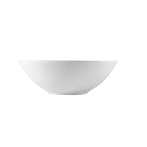 CAC China F-NB9 Clinton 32-Ounce Super White Porcelain Oval Bowl, 9 by 6 by 3-Inch, 24-Pack by CAC China