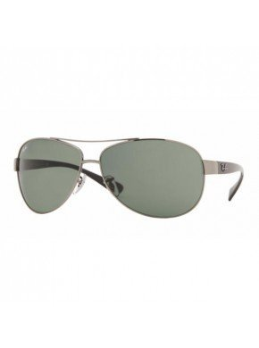 Ray Ban Sunglasses - RB3386 00471 Metal - Acetate Silver - Black Grey - Rb3386 Rayban
