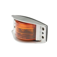 Steel Armored Clear/Mark Lamp Amber 1 Min