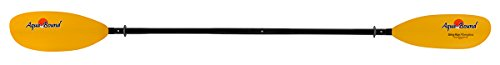 AQUA BOUND Sting Ray Fiberglass 4-Piece Snap Button Kayak Paddle-210cm