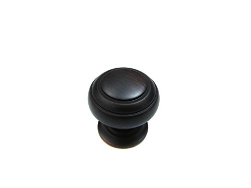 Richelieu Hardware - BP20304BORB - Traditional Metal Knob - 2030 - Brushed Oil-Rubbed Bronze  Finish