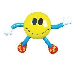 Smile Face Inflatable Figure 23 in (1 Dozen)