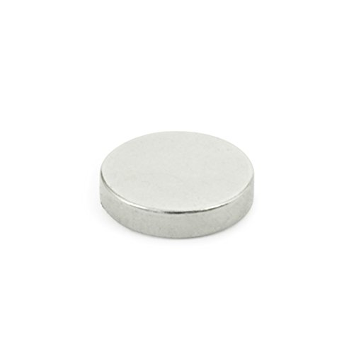 J.W. Winco 55.2-SC-24-3 GN55.2 Disk Shaped Raw Magnet, 0.94