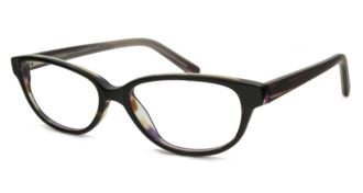 V Optique Rx Brigitte Eyeglasses - Tortoise Rainbow Frame Only with Demo - Rainbow Frames Eyeglass