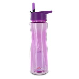 The Best Aqua Vessel Ultra Lite Tritan 25oz Filtration Bottle - 100 Gallon Filter, Violet-TRIAV750VI - It's never been easier to enjoy clean, filtered water just about anywhere than with the Aqua Vessel Ultra Lite Tritan Filtration Bottle. This plastic, BPA-free bottle features a 25 oz. capacity and is ideal for camping, hiking, sports, and more! Plus, the water bottle comes with an internal filter that filters out 99.9% of Giardia and Cryptosporidium from your water, while