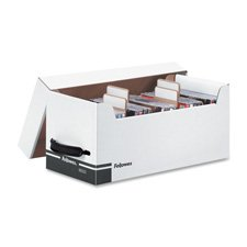 Fellowes Corrugated Cd - Fellowes 96503 Diskette File,w/Dividers,35 CD Cap,6-3/4