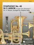 Mozart's Symphony #40 In G Minor - (excerpts From Movement 1) (Symphony 40 In G Minor Sheet Music)