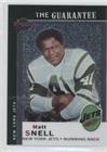 - Matt Snell #438/499 (Football Card) 2004 Topps All-Time Fan Favorites - [Base] - Chrome #69
