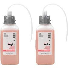 GO-JO Industries 856102CT CX amp; CXI Luxury Foam Hand Wash, Cranberry Liquid, 1500mL Refill