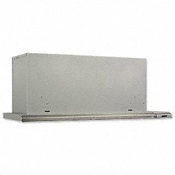 Broan 153604 Slide Out Range Hood, 36-Inch 300 CFM, Brushed Aluminum