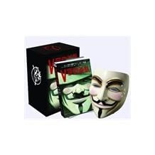 V for Vendetta (Hardcover) (American original mask) (gunpowder in blooming roses. with a revolution to defend freedom - the original movie. Hugo Award winner Alan Moore's first realist masterpiece)(Chinese Edition)