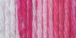 Handicrafter Cotton Stripes (Spinrite Handicrafter Cotton Yarn, Stripes, Pinky)