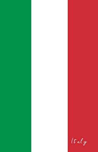 - Italy: Flag Notebook, Travel Journal to write in, College Ruled Journey Diary