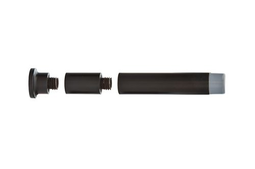 Emtek 2233 Extendable Baseboard Door Bumper 7 finish options (Oil Rubbed Bronze (US10B)) ()