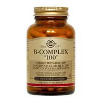 Solgar - B-complex, 100 Mg, 100 Veggie Caps (3 Pack) by Solgar