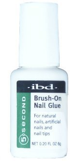 Ibd 5 Second Brush On Nail Glue 54006 / Treatments by IBD (Jet Mia Bag Idea)