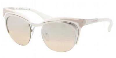 Prada Women 1101955003 Multicolor/Grey Sunglasses - Cat Eye Sunglasses 49mm Prada