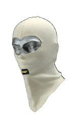 OMP Racing OMP-IAA/729 BASIC LINE DOUBLE LAYER BALACLAVA: Cream | One Size - Omp Balaclava