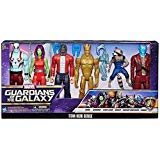 Marvel Guardians of the Galaxy Titan Hero Series 6-Pack 12-inch Action Figures Set: Drax, Gamora, Star-Lord, Groot, Rocket Raccoon, Yondu (Guardians Of The Galaxy 2 Toys Hasbro)