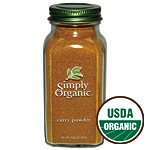 Simply Organic Curry Powder Certified Organic, 3-Ounce(2 Bottles)
