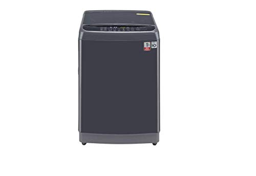 LG 11.0 Kg Inverter Wi-Fi Fully-Automatic Top Loading Washing Machine with Steam (THD11STM, Middle Black Color) 2021 July
