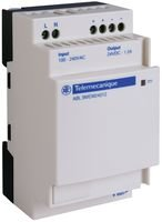 Schneider Electric Abl8mem24012 Ac-dc Conv, Din Rail, 1 O/p, 30w, 1.2a, 24v