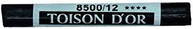 Koh-I-Noor Künstler Pastellkreide rund 10-75 8500 Elfenbein schwarz 12 in Set, Pastel, Ivory Black, 1.7 x 20 x 9.7 cm, Einheiten