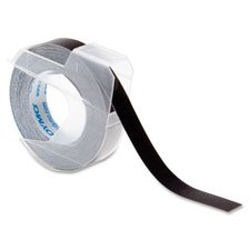 Vinyl Tape, Glossy, 3/8''x12' , Red, Sold as 1 Roll, 10 Roll per Roll 3/8x12' Dymo