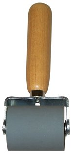 Dynamat 10007 Dyna-Roller Professional Heavy Duty Sound Deadener Installation Tool with Wood Handle and 2