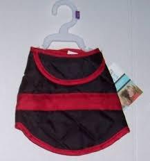 Dog Coats Barn Red (Martha Stewart Pets Black & Red Barn Coat Dog~-SMALL~)