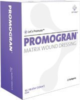 Systagenix wound management PROMOGRAN Dressing 4 sq. in. Hexagon Part No. PG004 Qty 10 Per Carton