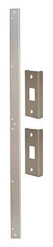 (Door Armor Mini - Door Security Reinforcement Kit For Jamb, Frame, Strike Plate - DIY Home Security - Satin Nickel)
