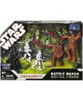 Star Wars 30th Anniversary Saga 2007 Exclusive Action Figure Battle Pack Attack on (Exclusive Battle Pack)