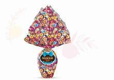 Large Dark Choc Easter Eggs (2 PACK) - Monardo Monciok imported from Italy, 7.05 oz (200g) With a surprise inside, an Italian favorite!