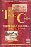 Teatro Colon - Orquesta Estable